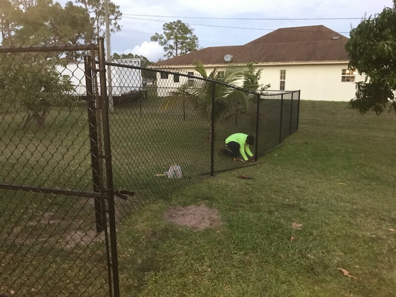 anaheim chain link fencing